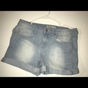 Pants - Blue denim shorts